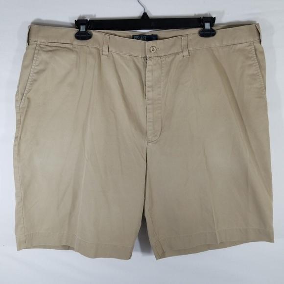Polo by Ralph Lauren Other - Polo Ralph Lauren khaki flat front shorts 48B